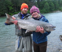 Contact Noel Gyger 250-635-2568 or noel@noelgyger.ca for info to book a guided fishing trip to catch fish like this.
