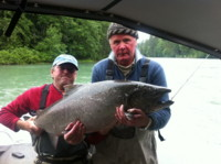 Contact Noel Gyger 250-635-2568 for info how to book the BEST fishing guide to catch a fish like this!