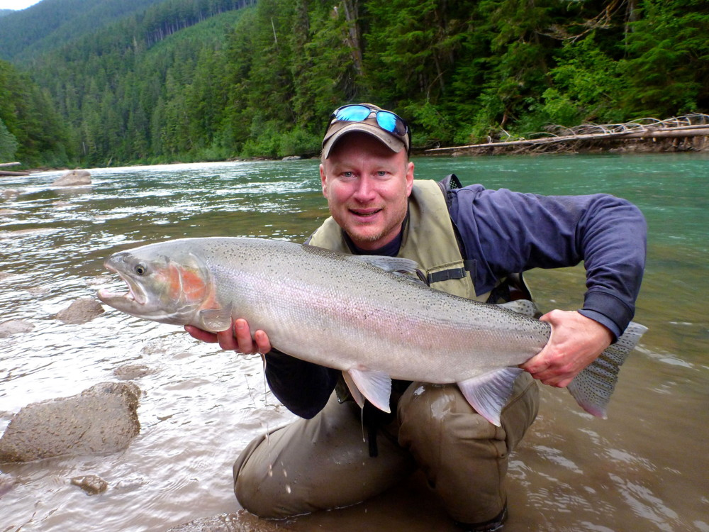 April 20 to april 29 2014 dennis therrien with a for What is steelhead fish