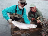 Skeena River spey fly fishing Steelhead