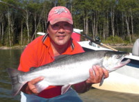 Early run Kitimat River Coho (Silver) Salmon