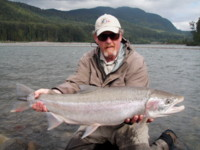 Fly Fishing for Skeena River Steelhead