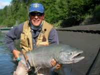 Fly Fishing for Chinook (King) Salmon