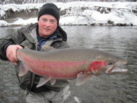 Contact Noel Gyger noel@noelgyger.ca to request a guided fishing trip with Darren Bisson