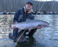 Spey Fly Fishing for Skeena River Steelhead
