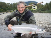Skeean River wild Steelhead Fly Fishing