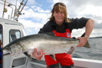 Pacific Ocean Chinook King Salmon