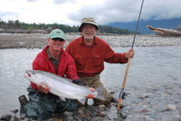 Andrew Rushton spey fly fishing Skeena River Steelhead