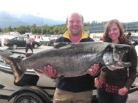 50-pound Kitimat River Chinook (King) Salmon