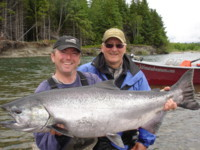 Tracey Hittel Kitimat River Chinook King Salmon