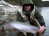 Dennis Therrien Kalum River Steelhead