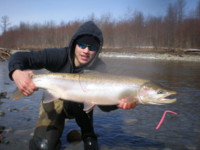 "Jesse Houston ""first"" Kitimat River Steelhead"