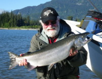 Contact Noel Gyger noel@noelgyger.ca to book a guided trip to catch a fish like this.