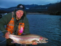 Fly Fishing for Kitimat River Steelhead