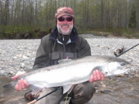Spey Fly Fishing for Steelhead on the Kitimat River