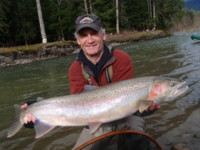 Spey fly fishing at its BEST on the Kitimat River BC Canada