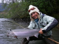 Fly Gal specializes in fly-casting instructionals, guided trips, wilderness camps and ladies clothing