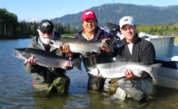 Kitimat River Coho Silver Salmon