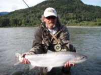 Spey Fly Fishing Skeena River Steelhead