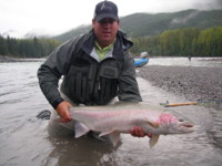 Fly Fishing Skeena Steelhead