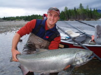 Gord McKean Kitimat River Chinook King Salmon